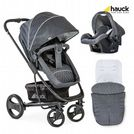 Brand New Hauck Pacific 4 Shop n Drive 2 Way Facing Pushchair Car Seat - Melange Charcoal
